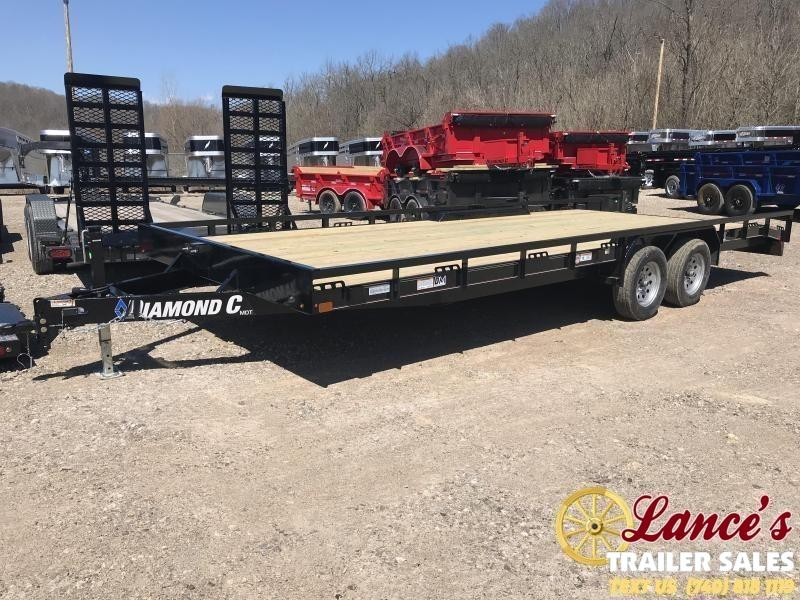 "2019 Diamond C Trailers MDT 98"" x 22' Equipment Trailer"