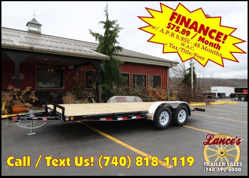 "2019 PJ 83""x18' 4"" Channel Open Car Hauler K2591040"