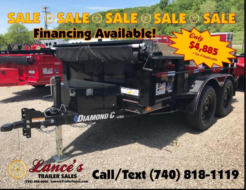 2019 Diamond C 5'x10' Deluxe Dump Trailer K1209793