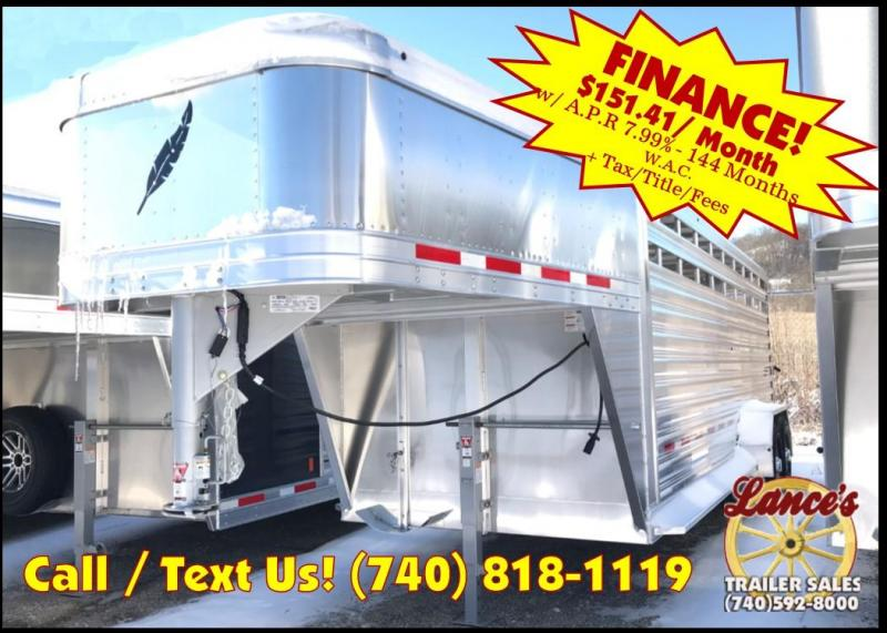 2019 Featherlite 8117 20' Livestock Trailer KC1512000