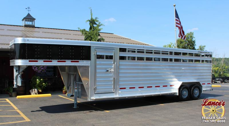 2019 Featherlite 8127 7'x24' Show Cattle Trailer KC150680