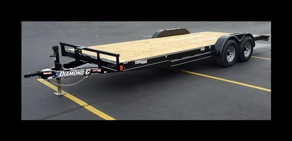 "2017 Diamond C ""RC83X20"" 20' Heavy Duty Car Hauler"