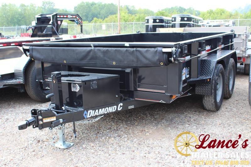 2019 Diamond C 77x10 Dump Trailer