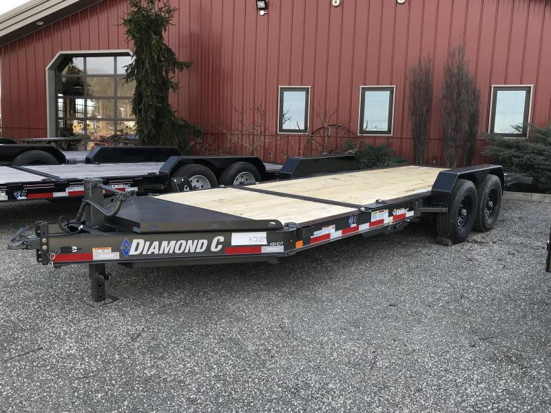 "2019 Diamond C 82""x20' Tilt Equipment Trailer K1206854"
