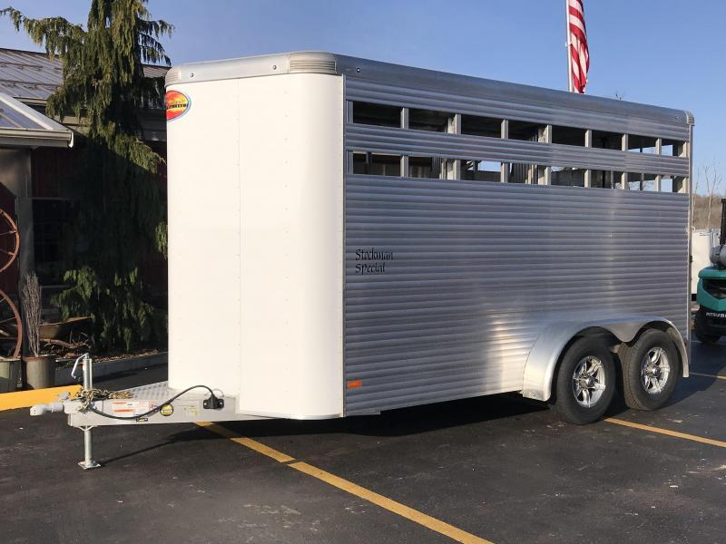 2020 Sundowner Stockman Special 3 Horse Trailer