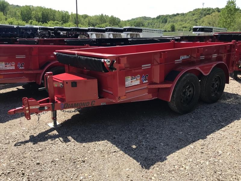 2019 Diamond C 5'x10' Standard Dump Trailer K1211387