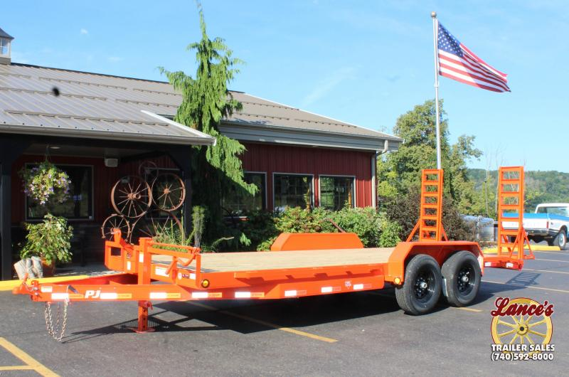 "2019 PJ 83""x20' 6"" Channel Equipment Trailer"