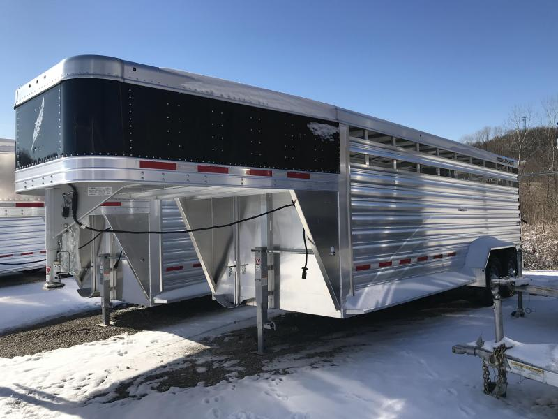 2019 Featherlite 8117 20' Livestock Trailer KC151047