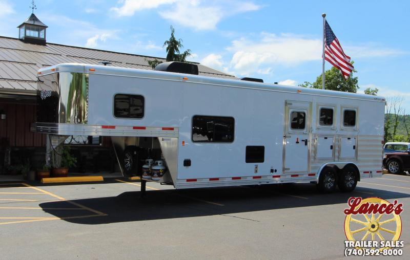 2018 Exiss Endeavor 8310 LQ 3 Horse Trailer
