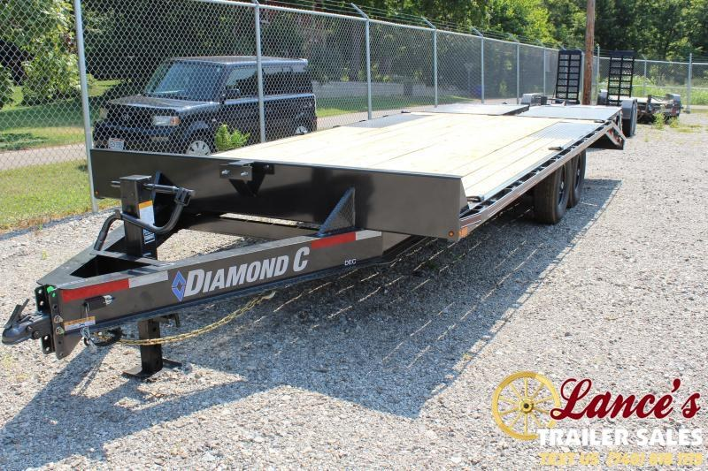 2019 Diamond C 20' Equipment Trailer