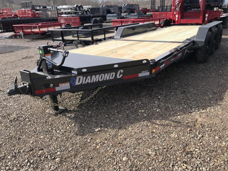 "2019 Diamond C 82""x22' Tri Axle Tilt Equipment Trailer K1210092"