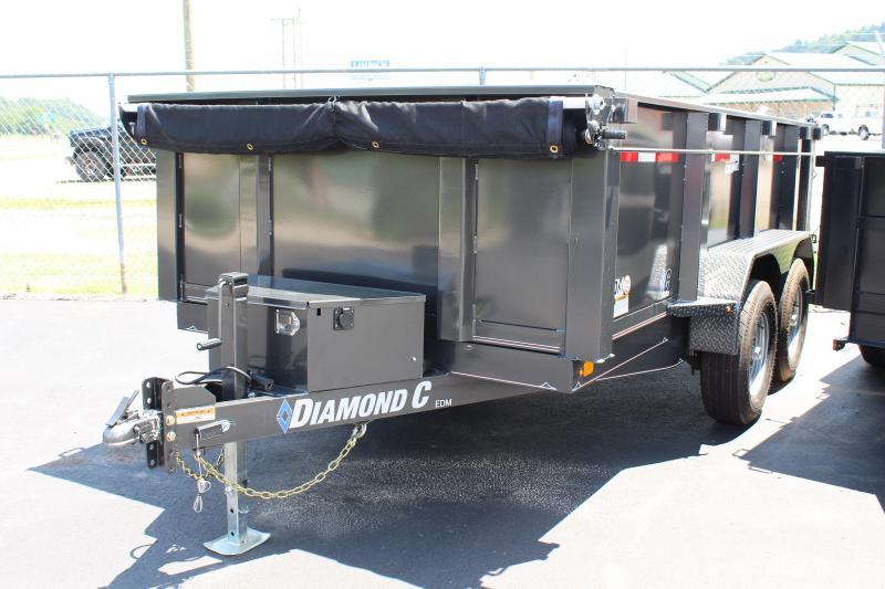 2019 Diamond C 77x12 Dump Trailer