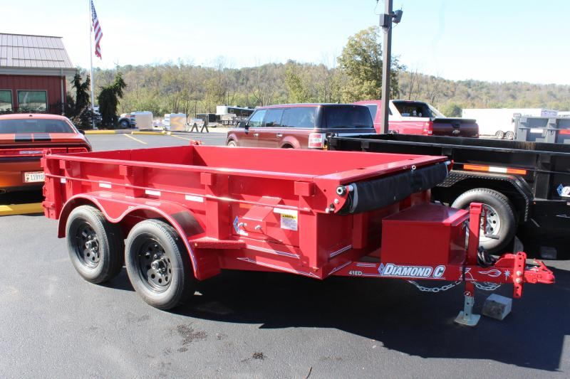"2017 Diamond C ""77""x10""  Dump Trailer"