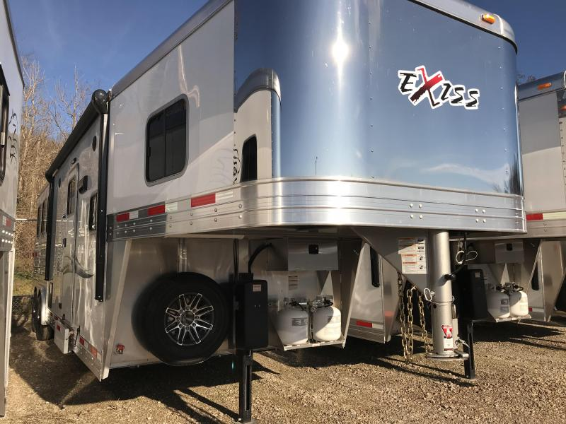 2019 Exiss Endeavor 8310A 3 Horse Slant Load Trailer K5071020