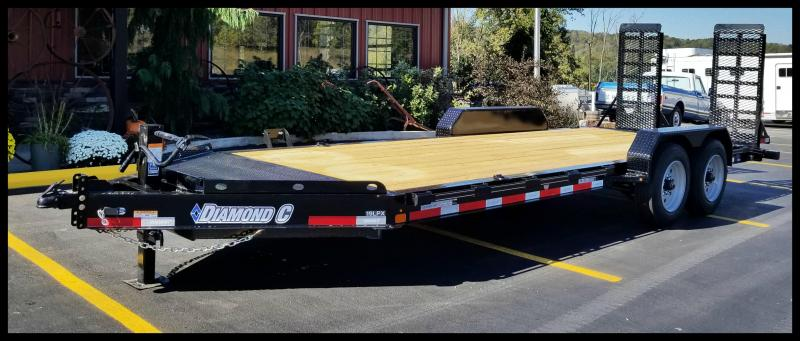 2017 Diamond C 19LPX Equipment Trailer