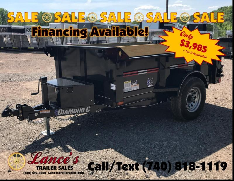 2019 Diamond C Trailers 5'x8' Dump Trailer K1214256