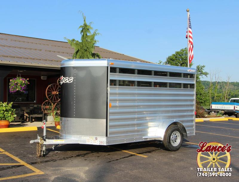 2019 Exiss Mini Exhibitor 11' Livestock Trailer