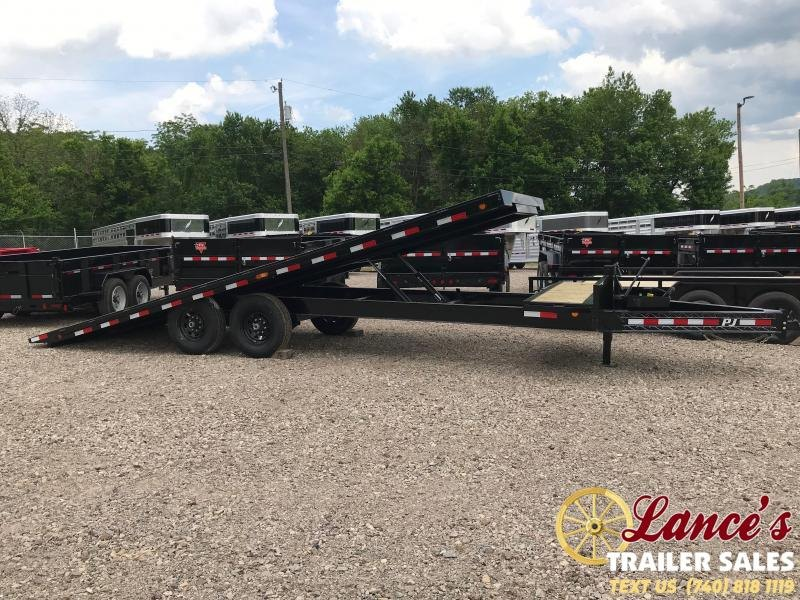 "2020 PJ Trailers 102"" x 24' BUMPER TILT EQUIPMENT TRAILER"