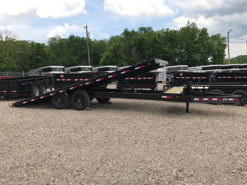 2020 PJ Trailers T8242 Equipment Trailer K3040460