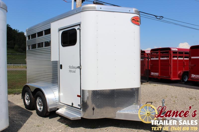 2020 Sundowner Trailers Stockman Special 2HBP Horse Trailer