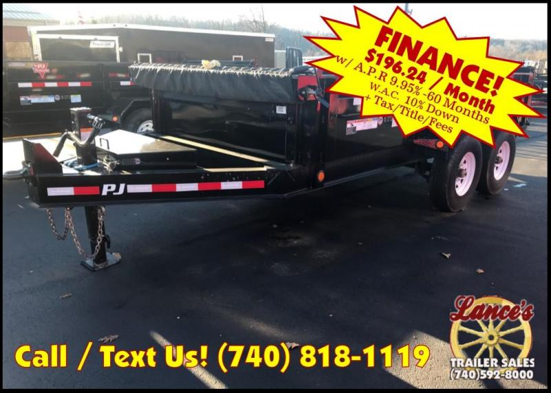 2019 PJ 7'x14' Heavy Duty Dump Trailer K3034361