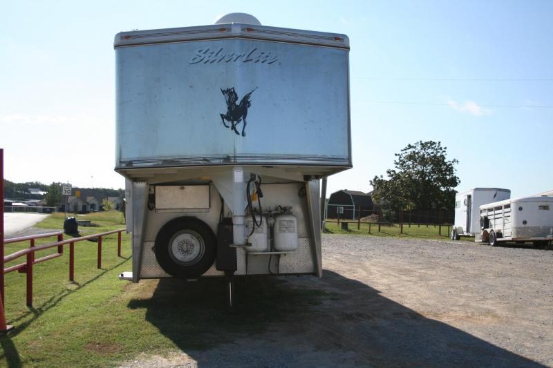 2008 Silver Lite Duster Conversions Horse Trailer