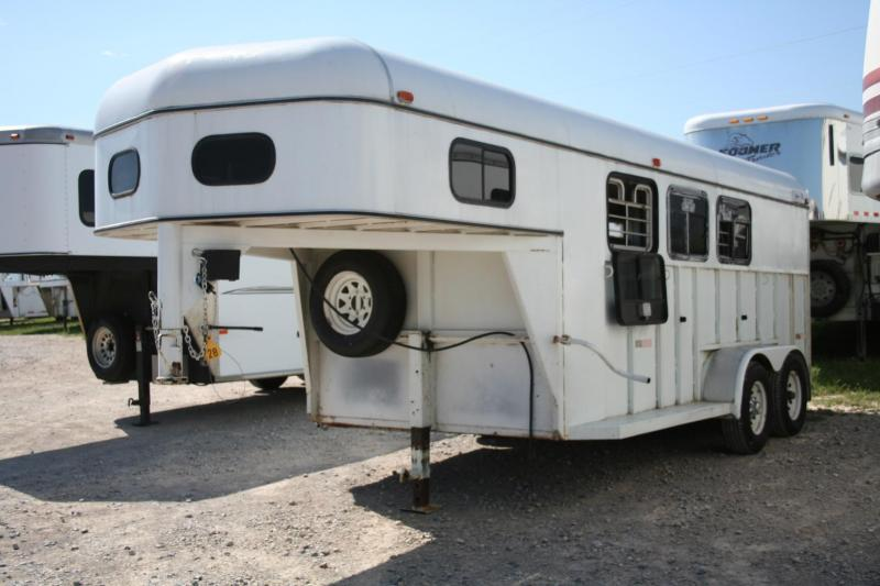 1997 Other 3H STEEL SLANT LOAD/STOCK COMBO Horse Trailer