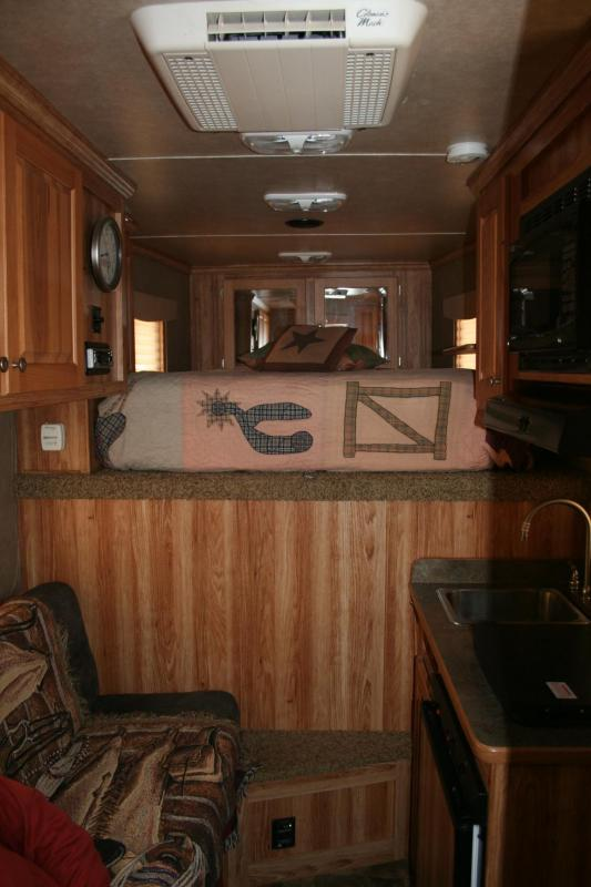2013 Featherlite Sierra Interior Horse Trailer