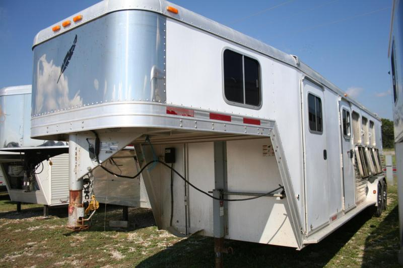 2006 FEATHERLITE 4H TRAILER
