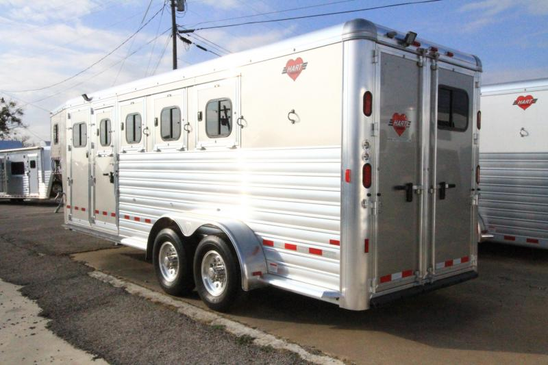 2017 Hart Trailers MVP 4H/GN - Smart Storage Horse Trailer
