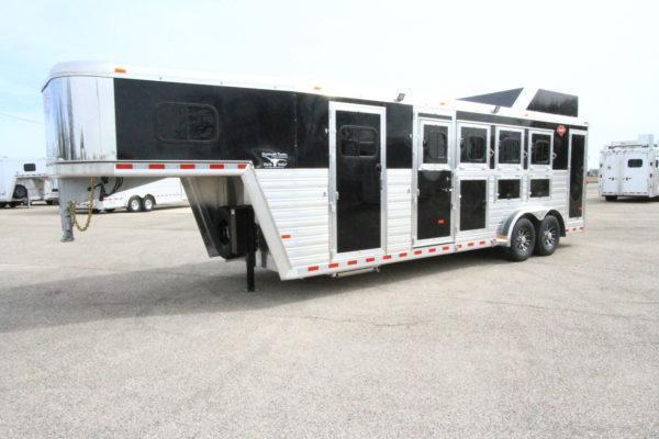 2019 Hart Tradition 4H GN Smart Tack Horse Trailer
