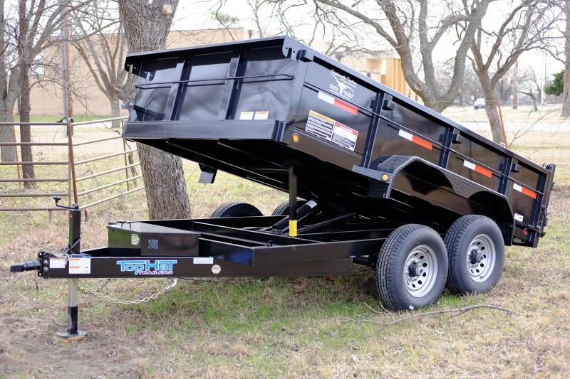 2017 Top Hat Trailers 7 x 12 BP Dump Trailer
