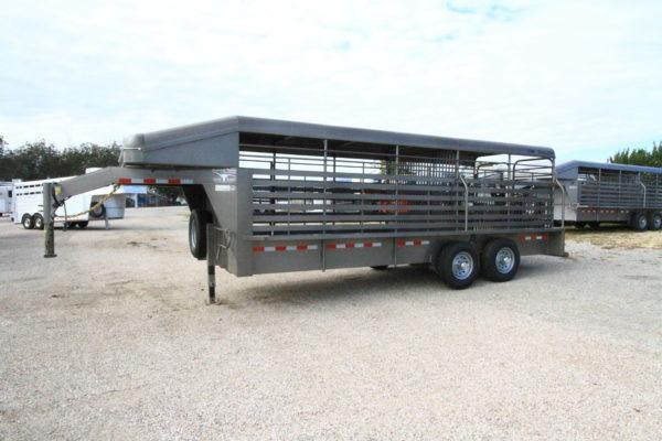 2019 CM Brush Buster GN 20' Stock Trailer