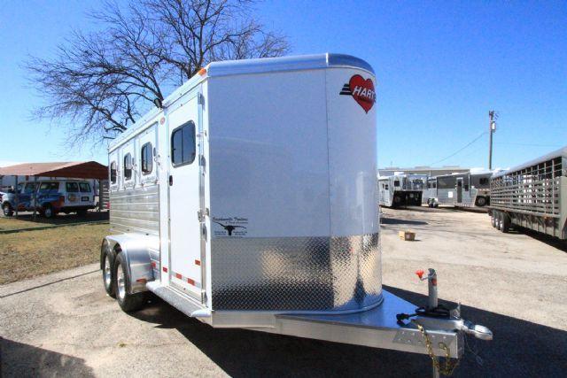 2016 HART MVP 3 Horse Slant Load Bumper Pull Horse Trailer