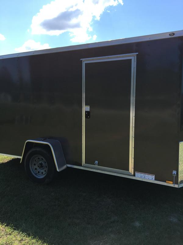 6X12 Single Axle Enclosed Cargo Trailer CG