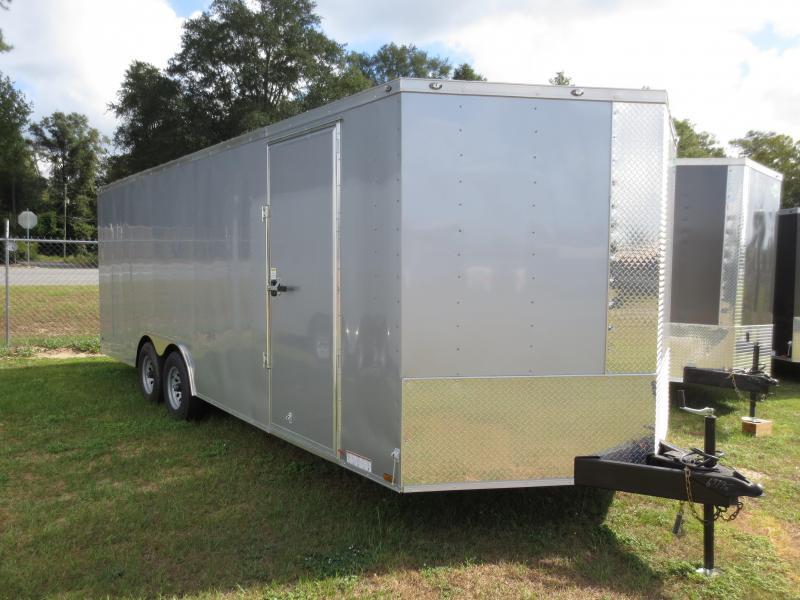 8.5x22 Tandem Axle Enclosed Cargo Trailer w/barlock