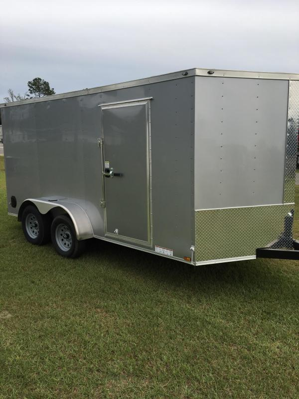 7x14 Tandem Axle Enclosed Cargo Trailer