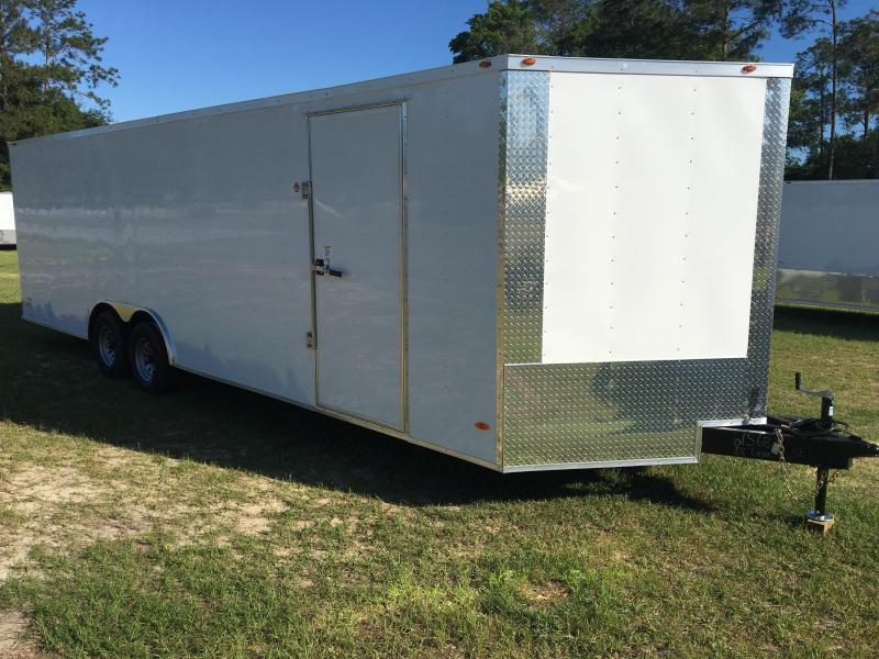 2019 8.5X26 Tandem Axle Enclosed Cargo Trailer