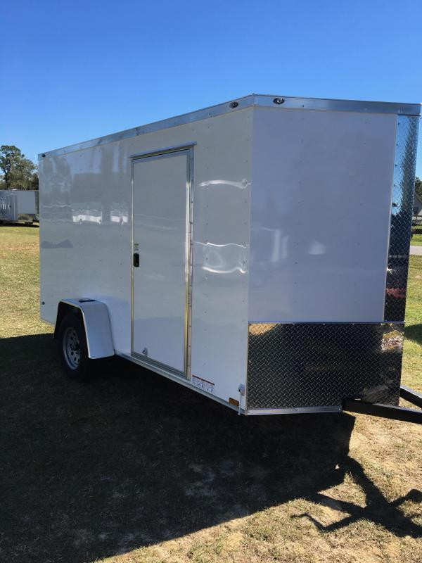 6x12 SA Enclosed Cargo Trailer