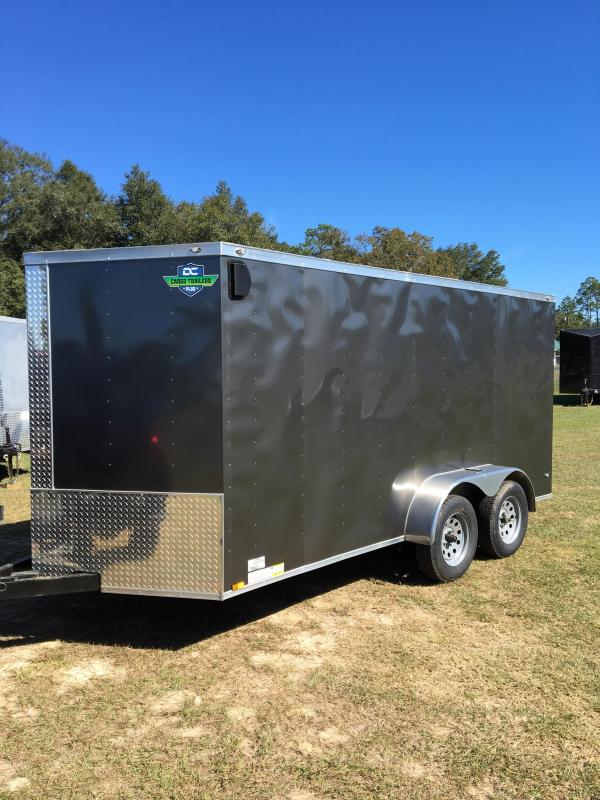 7x14 TA Enclosed Cargo Trailer