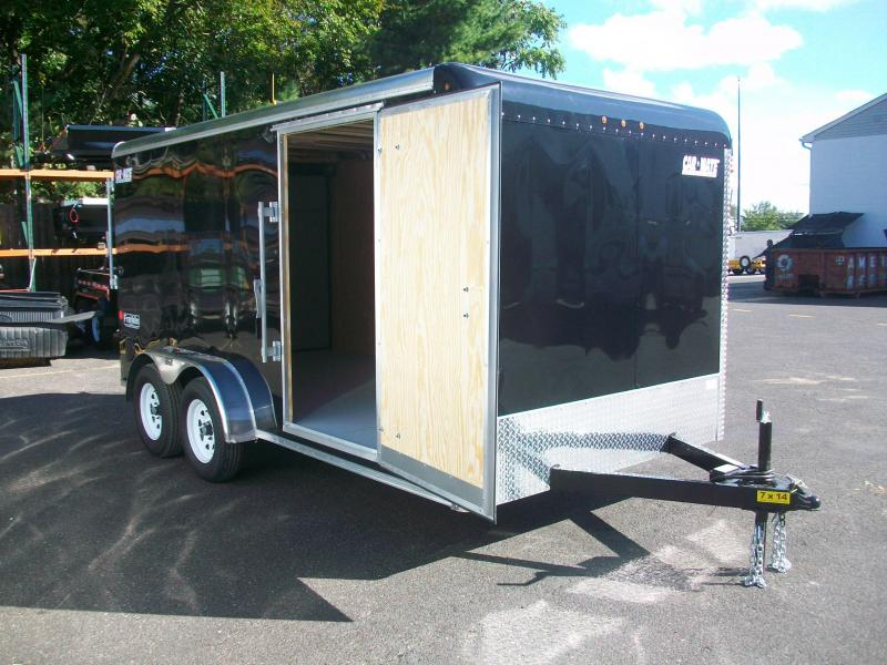 2018 Car Mate Trailers 7x14 Enclosed Cargo Trailer 2017841