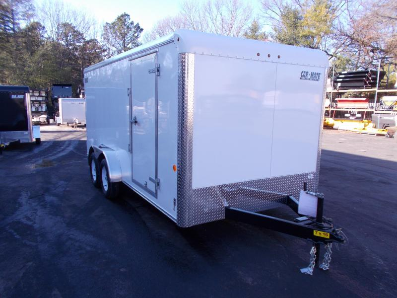 2019 Car Mate Trailers 7x16 Enclosed Cargo Trailer 2019740
