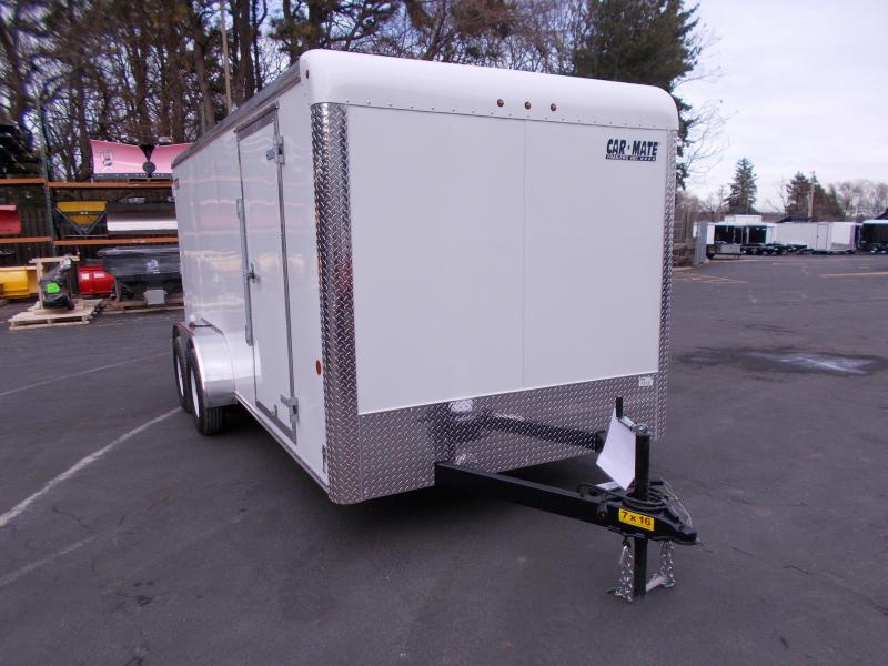 2019 Car Mate Trailers 7x16 Enclosed Cargo Trailer 2019763