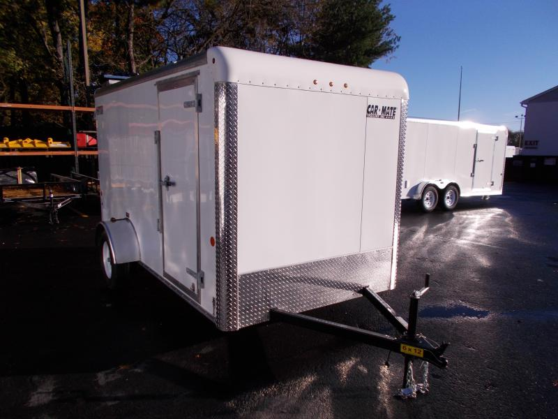 2019 Car Mate Trailers 6x12 Enclosed Cargo Trailer 2019636