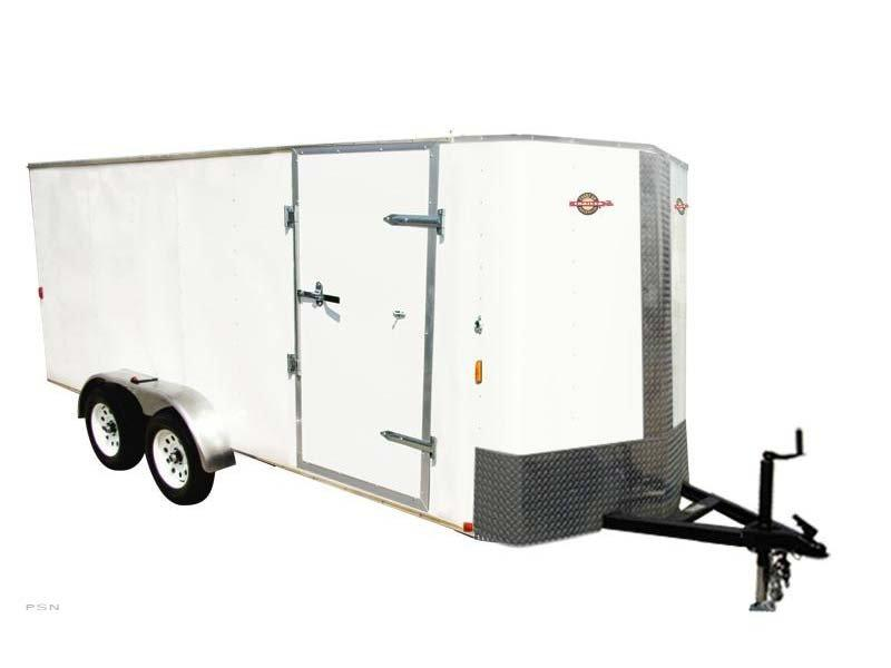 2018 Carry-On 7X16 Bull Nose Enclosed Cargo Trailer 2017932