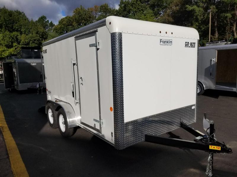2019 Car Mate Trailers 7x12 Enclosed Cargo Trailer 2019592