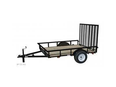 2018 Carry-On 6X8 - 2400 lbs. GVWR Wood Floor Utility Trailer 2019343