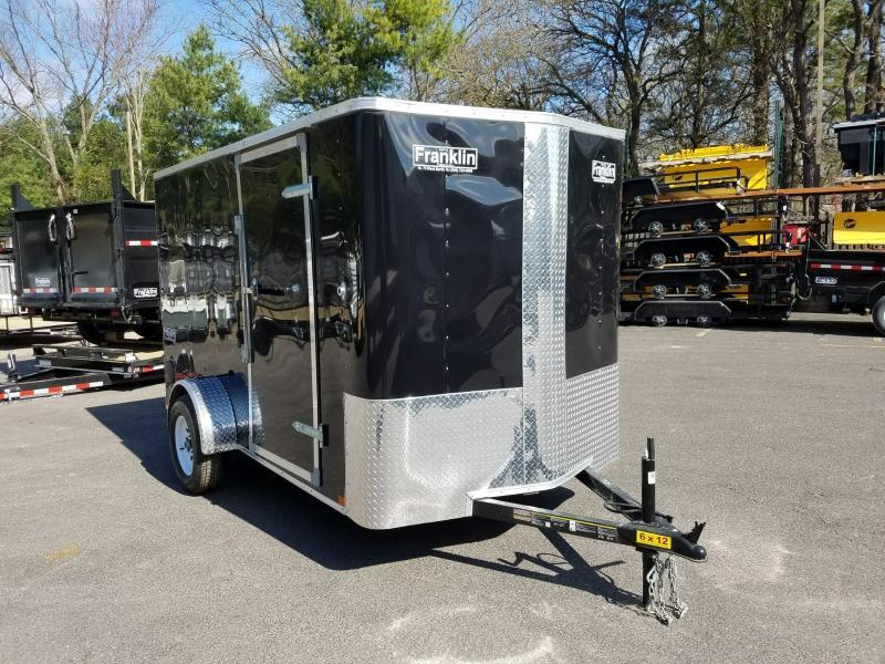 2018 Carry-On 6x12 V-Nose Enclosed Cargo Trailer 2018680