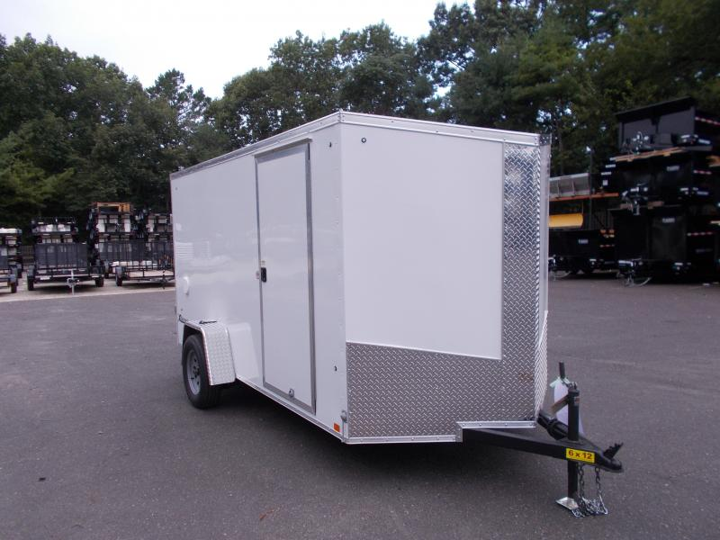 2018 Cargo Express 6x12 Cargo / Enclosed Trailer 2019455