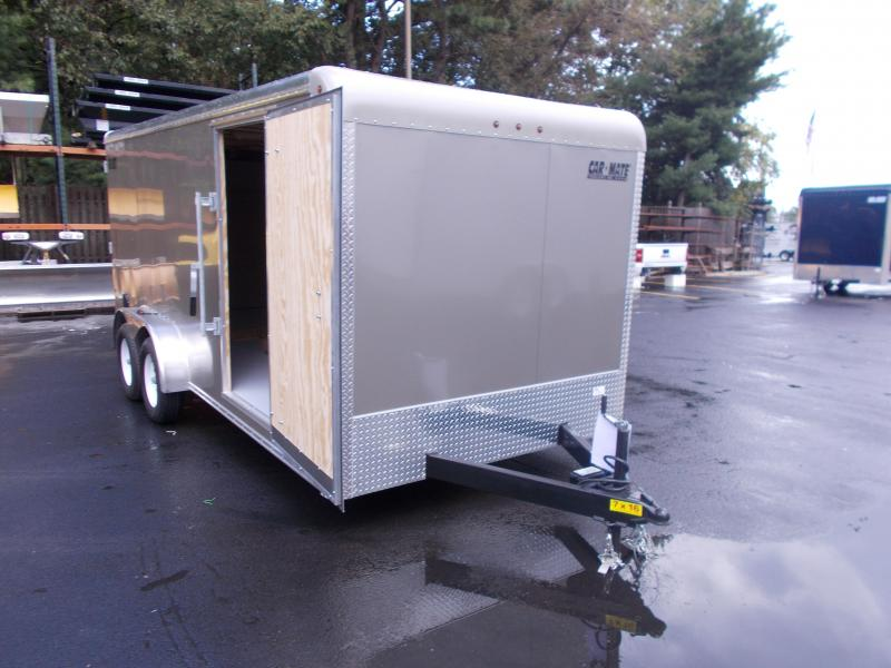 2019 Car Mate Trailers 7x16 Enclosed Cargo Trailer 2019577